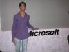 Pratik with Microsoft