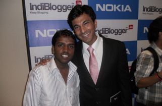 Vikas Khanna and Hari Maurya