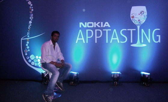 Hari Maurya at Nokia Indiblogger Meet